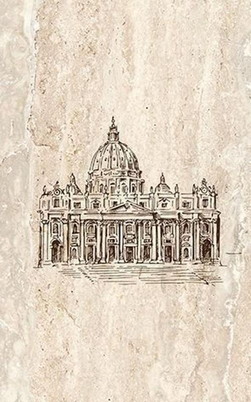 Фото - Керамический декор Ceramica Classic Efes coliseum-1 Iglesia 25х40 см керамическое панно ceramica classic efes coliseum 40х50 см
