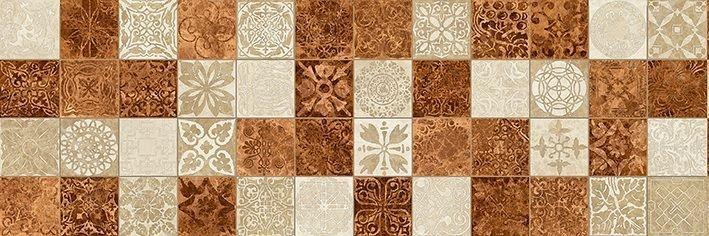 Керамическая плитка Ceramica Classic Libra оранжевый под мозаику 17-30-35-486 настенная 20х60 см керамический декор ceramica classic мармара паттерн серый 17 03 06 616 20х60 см