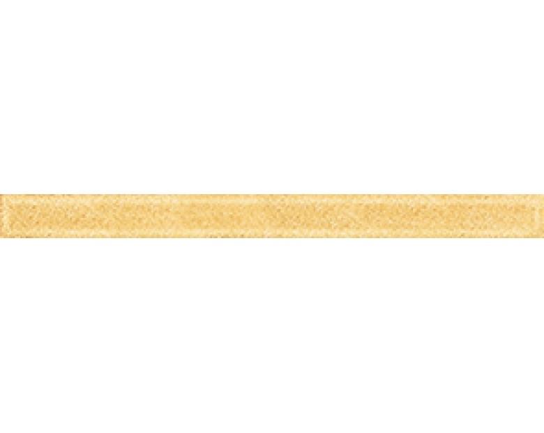 купить Стеклянный бордюр Ceramica Classic Illyria Monocolor Gold 2х25 см дешево