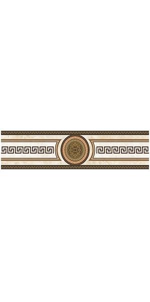 Керамический бордюр Ceramica Classic Illyria Classic-1 6,2х25 см