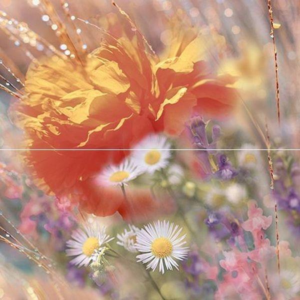 Фото - Керамическое панно Ceramica Classic Flowers P2-2D205 40х40 см керамическое панно ceramica classic efes coliseum 40х50 см