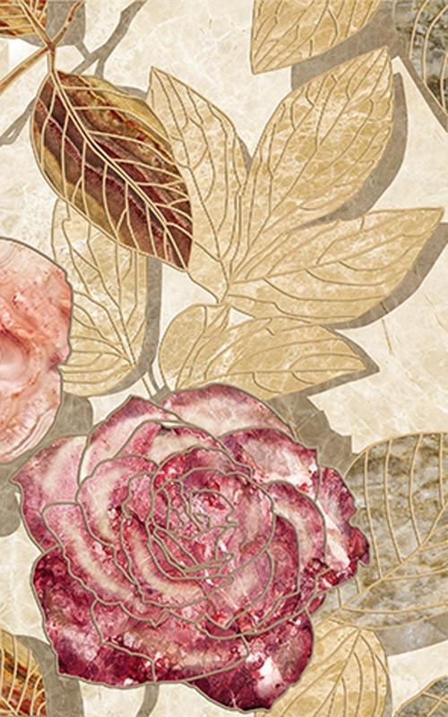 Керамический декор Ceramica Classic Illyria Flowers-2 25х40 см стоимость