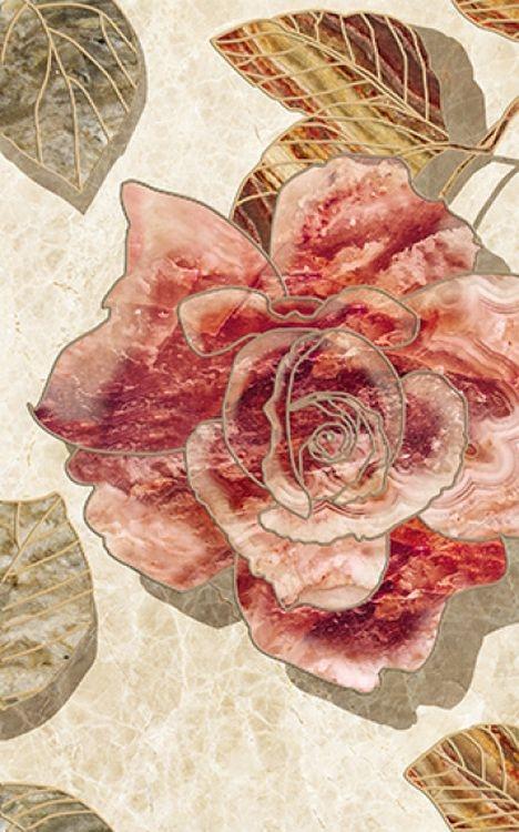 Керамический декор Ceramica Classic Illyria Flowers-1 25х40 см