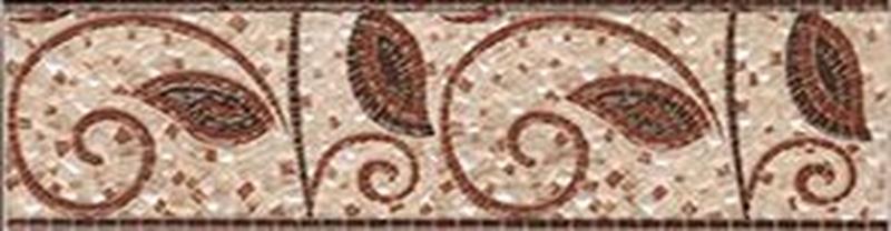 Керамический бордюр Ceramica Classic Galatia branch 6,5х25 см