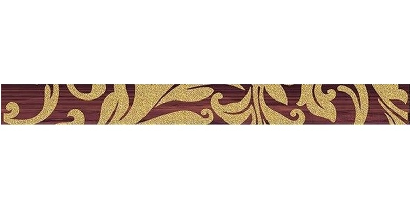 Керамический бордюр Ceramica Classic Ampir бордо 5х50 см бордюр keros ceramica augusta cen vanessa 5х50