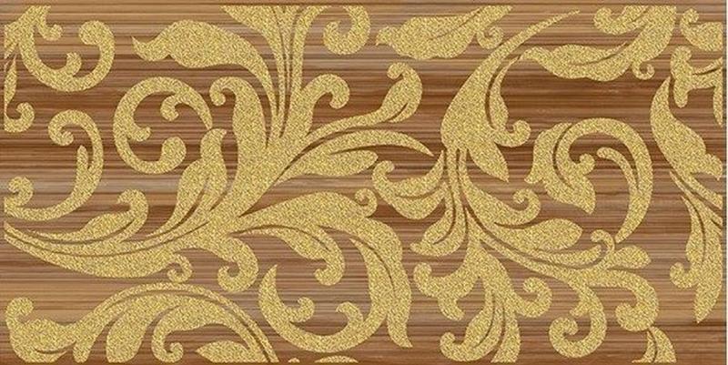 Керамический декор Ceramica Classic Ampir бежевый темный 25х50 см керамический декор ceramica classic петра с 3 мя вырезами бежевый 20х60 см
