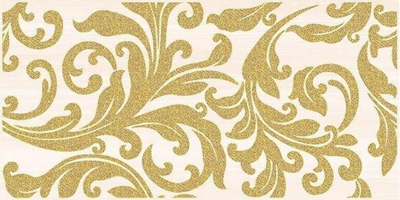 Керамический декор Ceramica Classic Ampir бежевый 25х50 см керамический декор ceramica classic петра с 3 мя вырезами бежевый 20х60 см