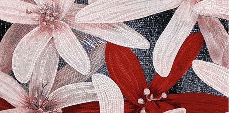 купить Керамический декор Ceramica Classic April бордо 2 25х50 см дешево