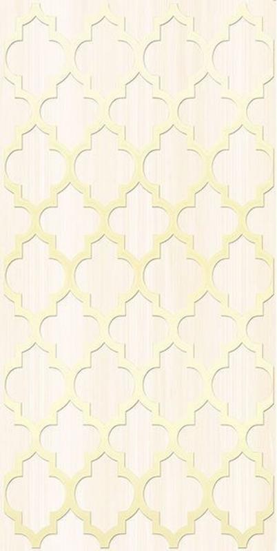 Керамический декор Ceramica Classic Buhara бежевый 25х50 см керамический декор ceramica classic петра с 3 мя вырезами бежевый 20х60 см