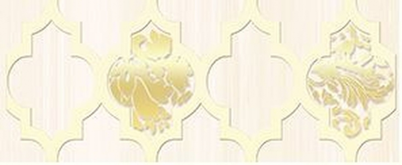 Керамический бордюр Ceramica Classic Buhara бежевый 10х25 см agness сервиз jordie 10х25 см