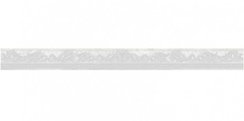 Керамический бордюр Ceramica Classic Мармара Олимп серый 58-03-06-660 5х60 см недорого