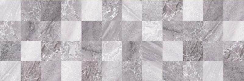 Керамический декор Ceramica Classic Мармара под мозаику серый 17-30-06-616 20х60 см керамический декор ceramica classic envy blast серый 17 03 06 1191 0 20х60 см