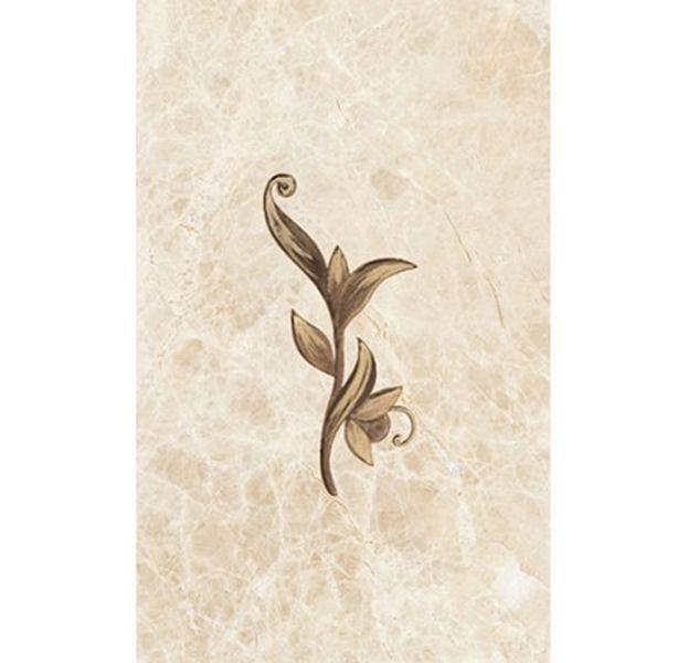 Керамический декор Ceramica Classic Illyria cappuccino 25х40 см