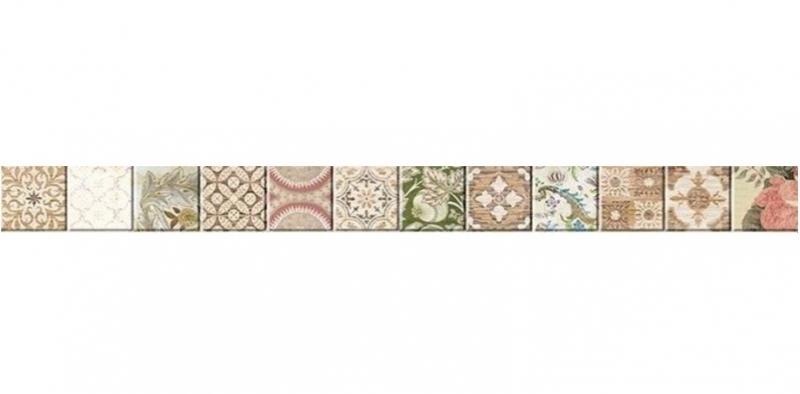 Керамический бордюр Ceramica Classic Kiparis 68-03-11-477-0 4,7х60 см