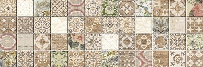 Керамическая плитка Ceramica Classic Kiparis под мозаику 17-30-11-477 настенная 20х60 см стоимость