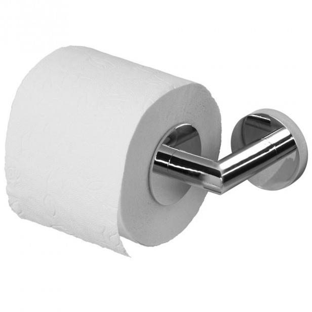 3690 ХромАксессуары для ванной<br> Хромированный держатель туалетной бумаги Aquanet 3690 00187043 оценят любители лаконичности в дизайне. Простой и практичный аксессуар впишется в любой интерьер ванной комнаты, при этом экономя место. Внутренний фиксатор рулона позволяет повысить удобство использования бумагой, она не ёрзает и не сползает. Крепление к стене спроектировано таким образом, чтобы крепежные элементы были скрыты. <br><br> <br> Размер (ШВД): 18 х 5.3 х 8.7 см <br> Крепление: На стену <br><br><br>Комплект поставки: держатель туалетной бумаги, крепления<br>