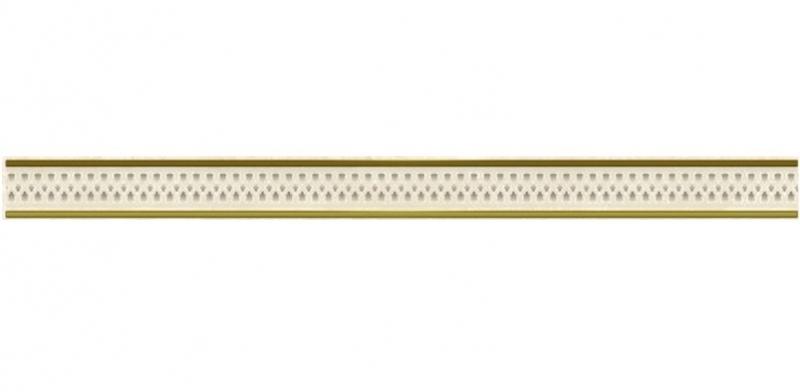 Фото - Керамический бордюр Ceramica Classic Петра Ажур бежевый 48-03-11-659 4х60 см керамический бордюр ceramica classic buhara бежевый 10х25 см