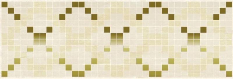 Керамический декор Ceramica Classic Петра Паттерн бежевый 17-03-11-616 20х60 см керамический декор ceramica classic петра с 3 мя вырезами бежевый 20х60 см