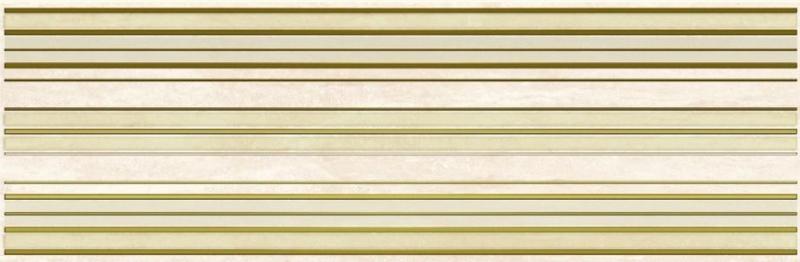 Керамический декор Ceramica Classic Петра Лайн бежевый 17-03-11-658 20х60 см керамический декор ceramica classic петра с 3 мя вырезами бежевый 20х60 см