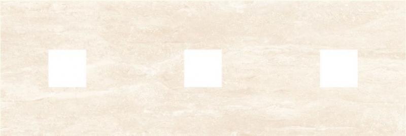 Керамический декор Ceramica Classic Петра с 3-мя вырезами бежевый 20х60 см керамический декор ceramica classic петра с 3 мя вырезами бежевый 20х60 см
