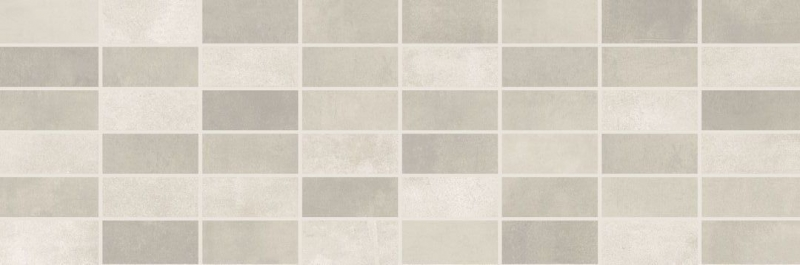 Керамический декор Lasselsberger Ceramics Fiori Grigio под мозаику светло-серый 1064-0047 / 1064-0102 20х60 см