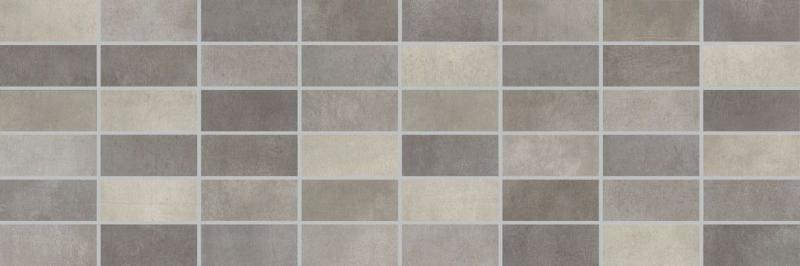Керамический декор Lasselsberger Ceramics Fiori Grigio под мозаику темно-серый 1064-0048/1064-0103 20х60 см