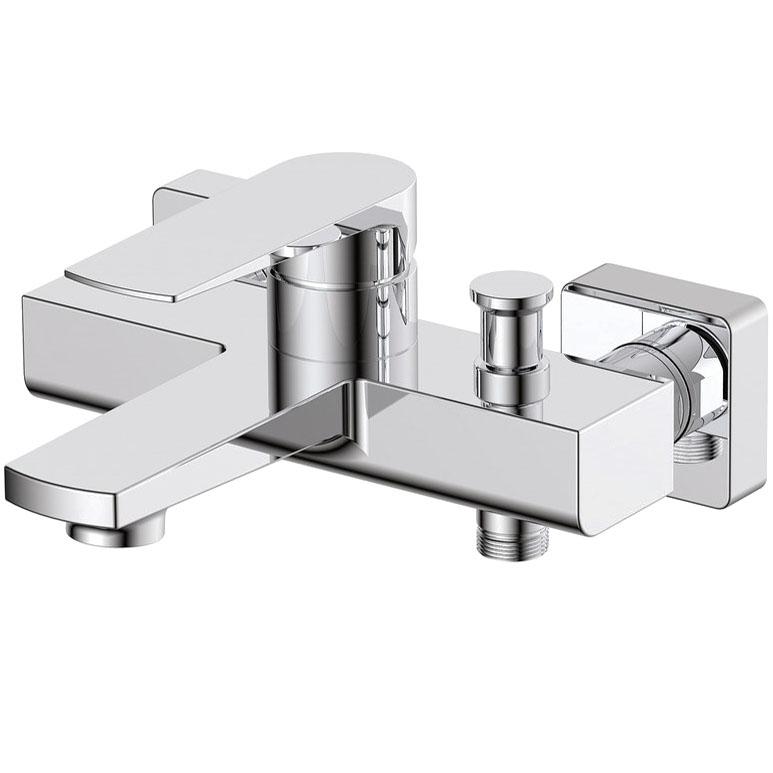 Фото - Смеситель для ванны BelBagno Carin CAR-VASM-CRM Хром смеситель для ванны belbagno ticino tic vdlm crm хром