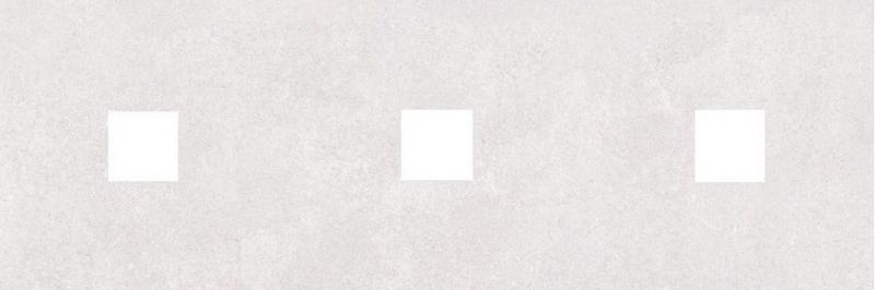 Керамический декор Ceramica Classic Студио с 3-мя вырезами серый 20х60 см керамический декор ceramica classic петра с 3 мя вырезами бежевый 20х60 см