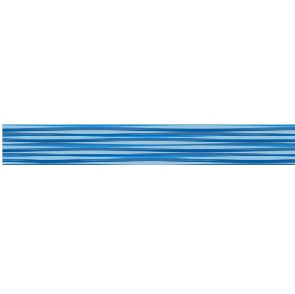 Керамический бордюр Ceramica Classic Enigma Stripes синий 5х50 см зеркало со шкафом vigo callao 60 l с подсветкой белое