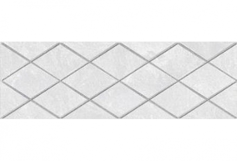 Керамический декор Ceramica Classic Alcor Attimo белый 17-05-01-1188-0 20х60 см керамический декор ceramica classic alcor tresor серый 17 03 06 1187 0 20х60 см