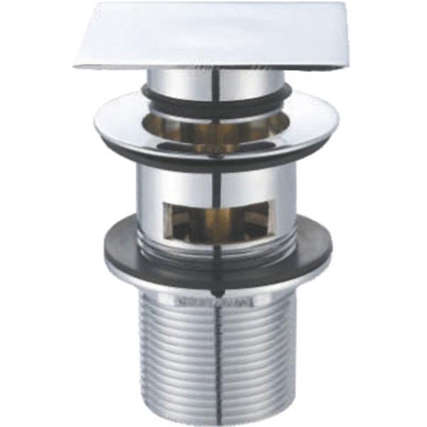 BB-PCU-07-CRM ХромКомплектующие<br>Донный клапан для раковины BelBagno BB-PCU-07-CRM.<br>Функциональный донный клапан внесет нотку стиля в любую ванную комнату.<br><br>Характеристики:<br>Цвет: хром.<br>Изготовлен из высококачественной латуни с гладким хромированным покрытием, которое не теряет цвет со временем, устойчиво к царапинам и превосходно защищает от коррозии.<br>Диаметр подключения сифона: G 1 1/4.<br>Вид слива-перелива: автоматический (клик-клак).<br><br>В комплекте поставки: донный клапан.<br>