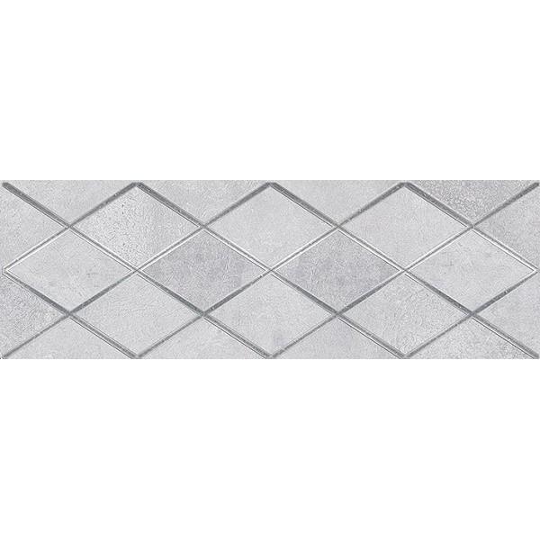 Керамический декор Ceramica Classic Mizar Attimo тёмно-серый 17-05-07-1180-0 20х60 см керамический декор ceramica classic петра с 3 мя вырезами бежевый 20х60 см