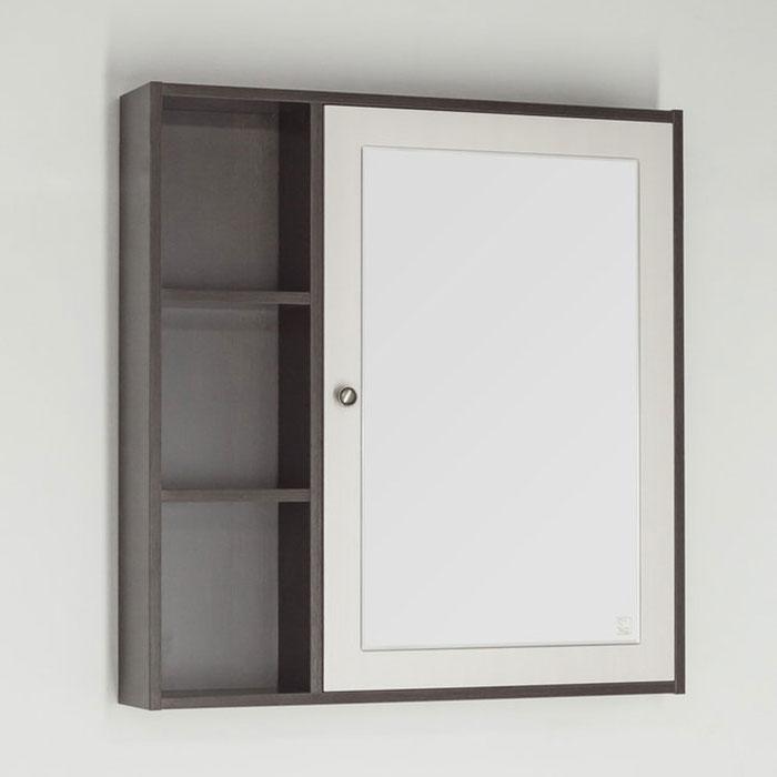 Зеркальный шкаф Style Line Кантри 75 Венге Лен Белый зеркальный шкаф style line кантри 75 2000949009926