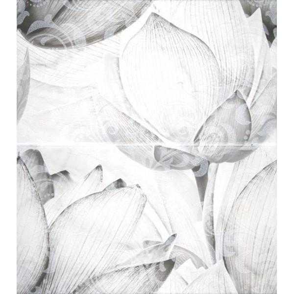 Керамическое панно Lasselsberger Ceramics Каррарский Мрамор цветы 1609-0019 45х50 см стоимость