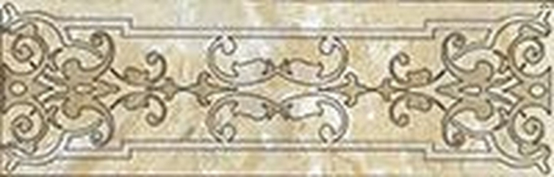 Керамический бордюр Lasselsberger Ceramics Кендо бежевый 1501-0072 7,5х25 см