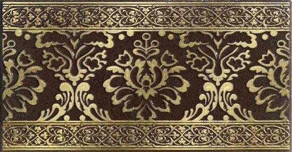 Керамический бордюр Lasselsberger Ceramics Катар коричневый 1502-0576 7,5х25 см стоимость