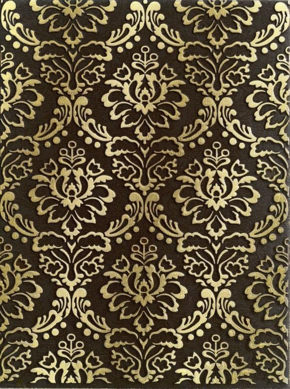 Керамический декор Lasselsberger Ceramics Катар коричневый 1634-0091 25х33 см