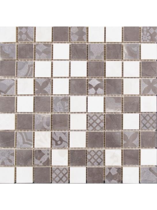 Керамическая мозаика Lasselsberger Ceramics Меравиль натуральная 1932-0013 30х30 см