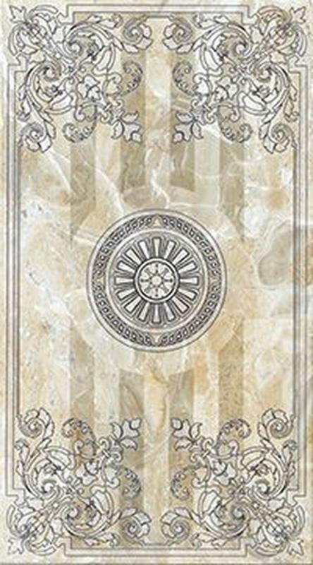 Керамический декор Lasselsberger Ceramics Кендо бежевый 1645-0078 25х45 см цена