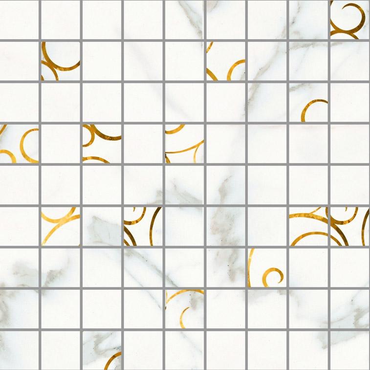 Керамическая мозаика Lasselsberger Ceramics Миланезе дизайн натуральный 3 1932-1084 30х30 см