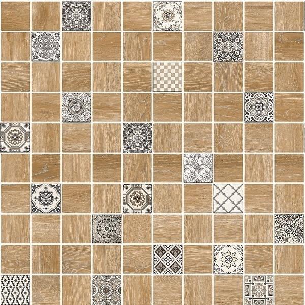 цена на Мозаичный декор Lasselsberger Ceramics Астрид натуральный 5032-0289/5032-0290 30х30 см