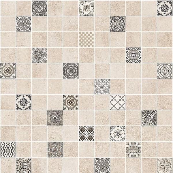 цена на Мозаичный декор Lasselsberger Ceramics Астрид кофейный 5032-0290/5032-0291 30х30 см