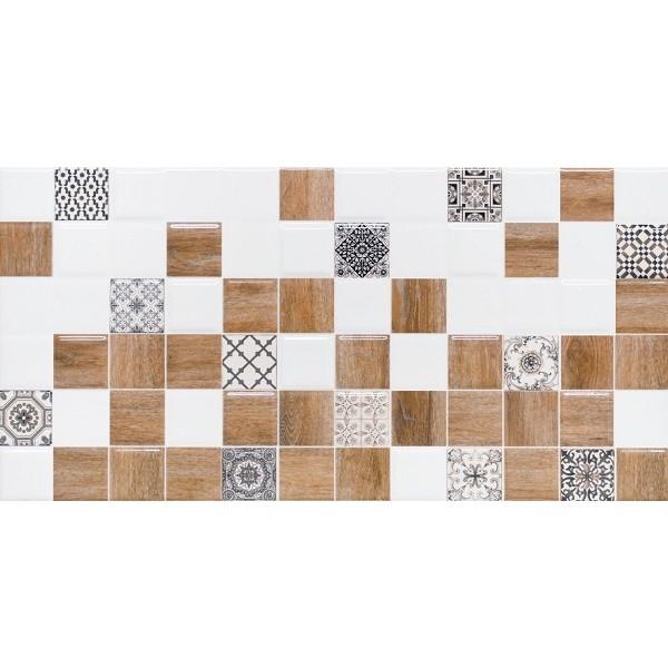 цена на Керамический декор Lasselsberger Ceramics Астрид 2 белый 1041-0179/1041-0239 20х40 см