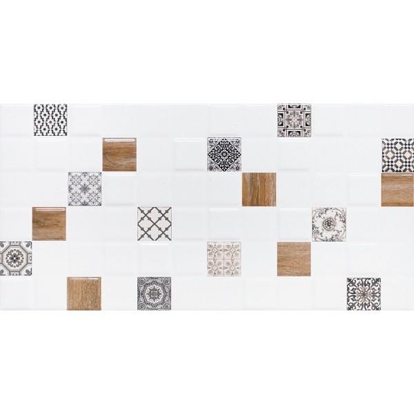 Керамический декор Lasselsberger Ceramics Астрид 1 белый 1041-0178/1041-0238 20х40 см керамический декор lasselsberger ceramics кампанилья 1 1641 0091 20х40 см