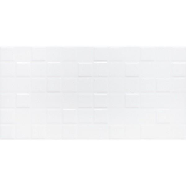 Керамическая плитка Lasselsberger Ceramics Астрид белая 1041-0173/1041-0233 настенная 20х40 см