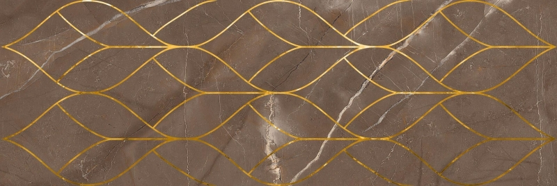 Керамический декор Lasselsberger Ceramics Миланезе дизайн Марроне Тресс 1664-0158 20х60 см керамический декор lasselsberger ceramics ящики 2 кит 1664 0176 20х60 см