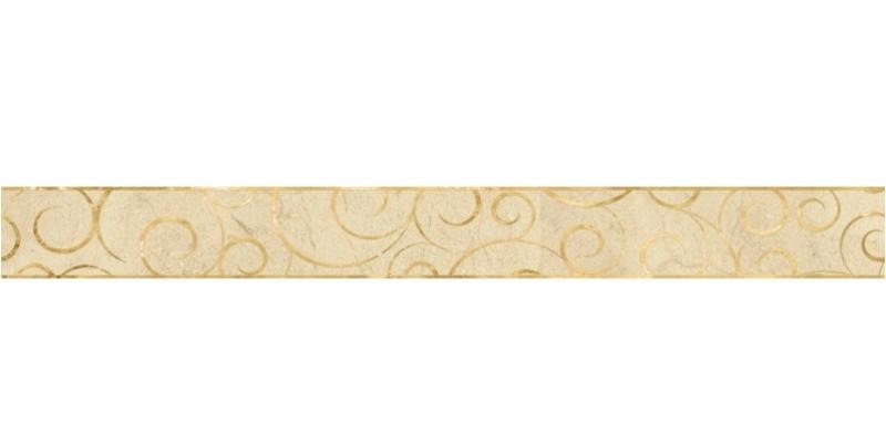 Керамический бордюр Lasselsberger Ceramics Миланезе дизайн Флорал Крема 1506-0156 6х60 см крема авене