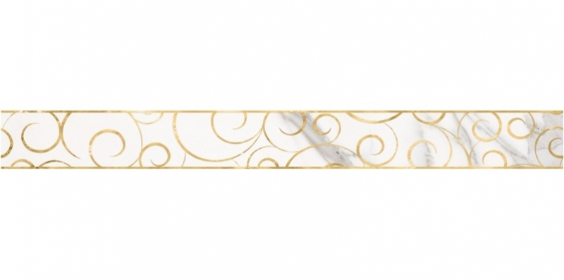 Керамический бордюр Lasselsberger Ceramics Миланезе дизайн Флорал Каррара 1506-0154 6х60 см керамический бордюр lasselsberger ceramics ящики 1506 0174 6 5х60 см