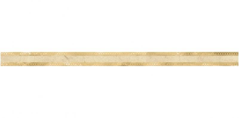 Керамический бордюр Lasselsberger Ceramics Миланезе дизайн Римский Крема 1506-0157 3,6х60 см крема авене
