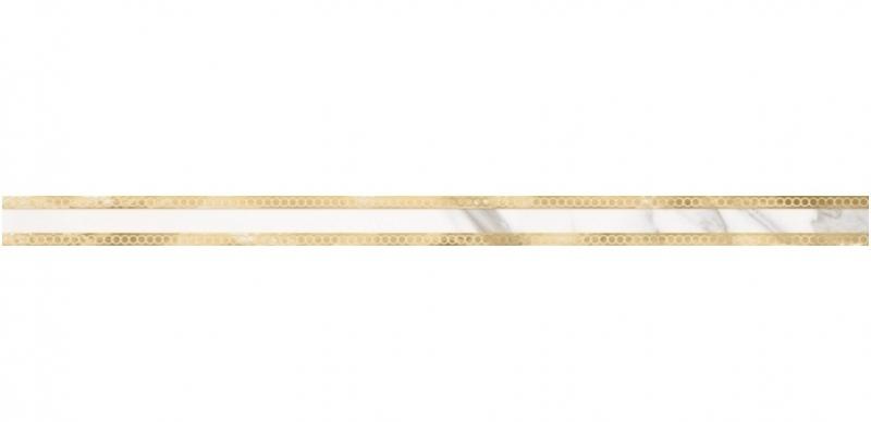 цены Керамический бордюр Lasselsberger Ceramics Миланезе дизайн Римский Каррара 1506-0155 3,6х60 см